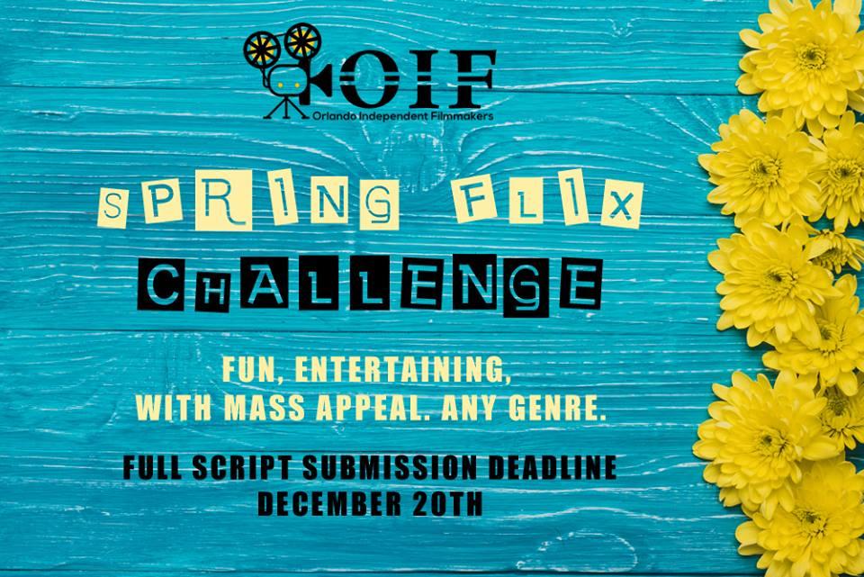 Orlando Independent Filmmakers -Spring Flix